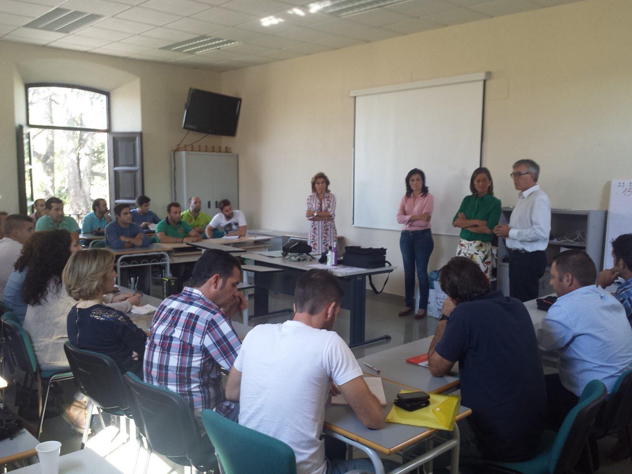 Clausurados los cursos del programa de incorporaci n a la for Oficina comarcal agraria