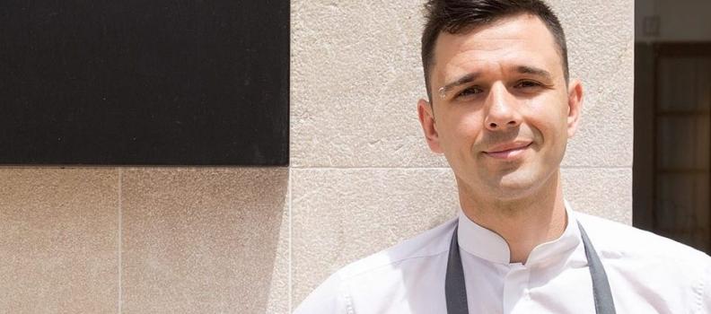 El cocinero Álvaro Salazar, entre los Premios Jaén Joven