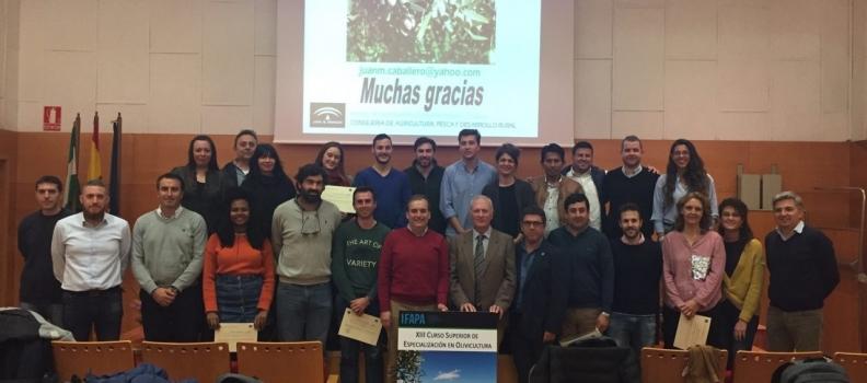 Andalucía convoca el Curso Superior de Especialización en Olivicultura