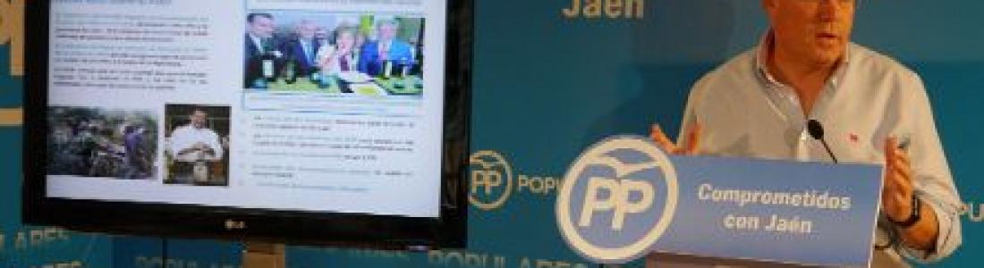 Fernández de Moya dice que el PP es «el partido del olivar»