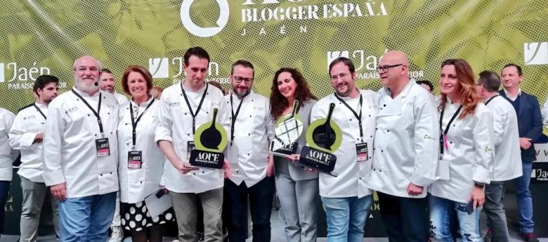 Fernando Romero, deRecetas que funcionan, gana el concurso AOVE Blogger 2018 de la Diputación y Jaén Gastronómico