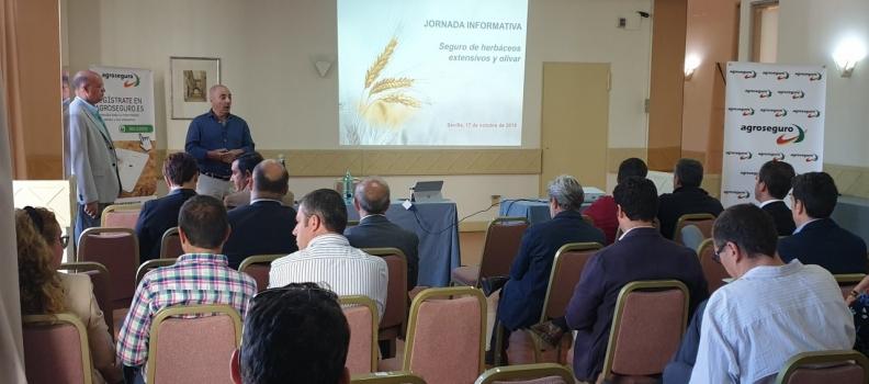 Agroseguro presenta en Sevilla las novedades de los seguros para cultivos herbáceos y olivar