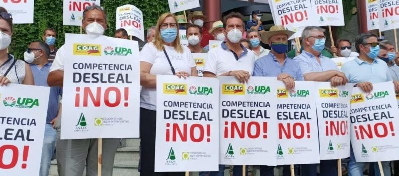 ASAJA, COAG, UPA y Cooperativas Agro-Alimentarias convocan para el 7 de agosto una caravana de vehículos en la Sierra de Segura en defensa del olivar en pendiente con altos costes