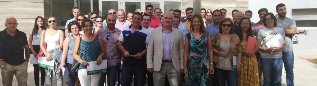 La Junta destina 5 millones para la modernización de explotaciones agrarias en el ámbito de las OCAs de Linares, Andújar y Santisteban