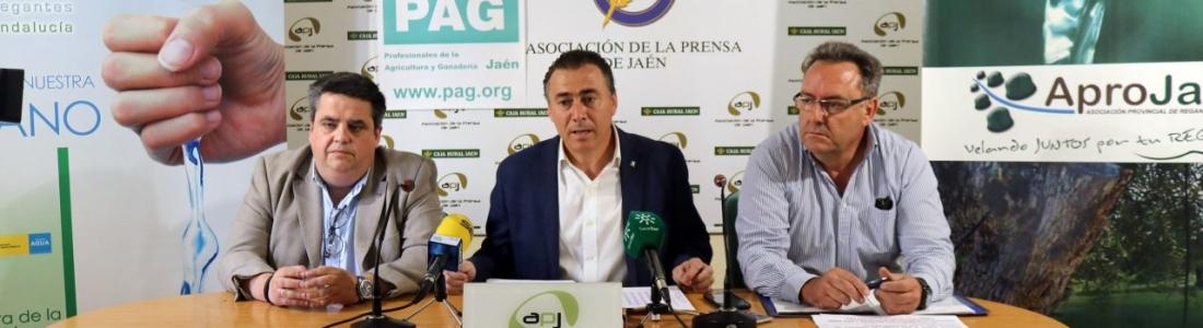 APROJAÉN, AREDA y PAG Jaén esperan reunir a 1.000 tractores en Úbeda para pedir soluciones al precio del aceite de oliva y a la regularización de regadíos