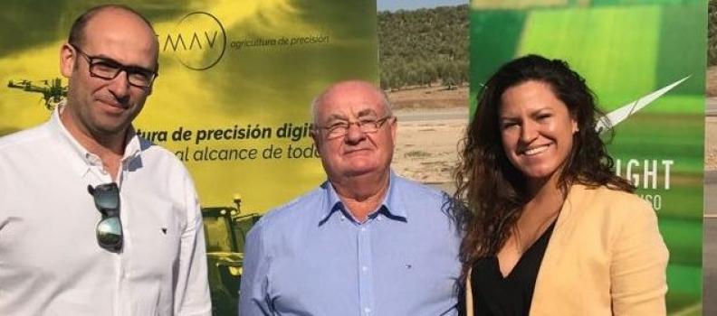 ASAJA-Jaén formará a agricultores como pilotos de drones para aplicar esta tecnología a sus explotaciones agrarias