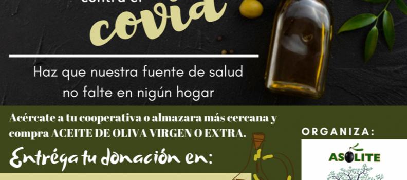Asolite y la Federación de Bancos de Alimentos impulsan una campaña de donación de aceites de oliva