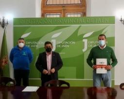 Miembros de Asolite se reúnen con el presidente de la Diputación de Jaén para recabar su apoyo para el olivar tradicional en la PAC