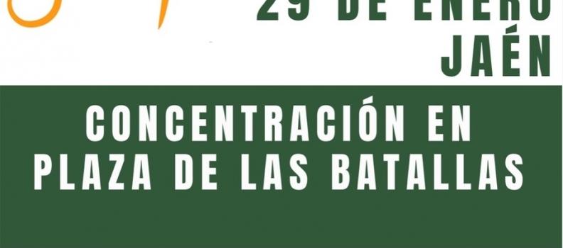 Asolite proyecta una concentración de olivareros en Jaén el próximo día 29