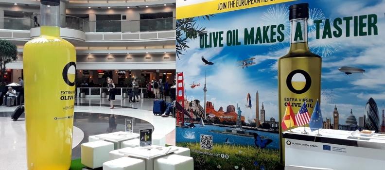 El «Olive Oil World Tour» hace escala en el aeropuerto más transitado del mundo, el norteamericano de Atlanta