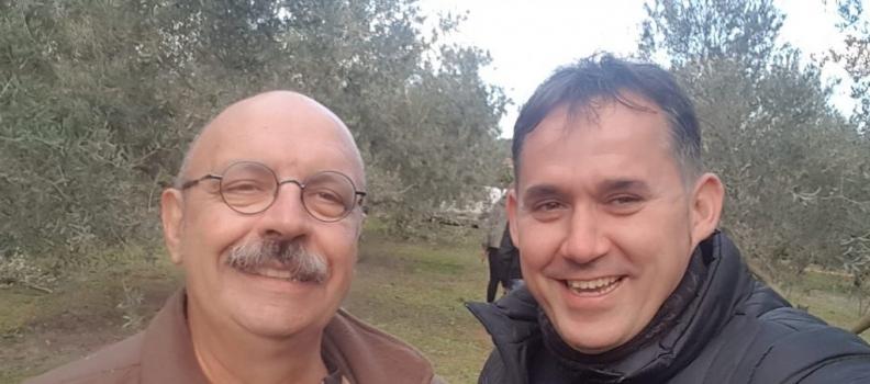 La Interprofesional del Aceite de Oliva de Francia se interesa por los sistemas de poda de olivar en Jaén