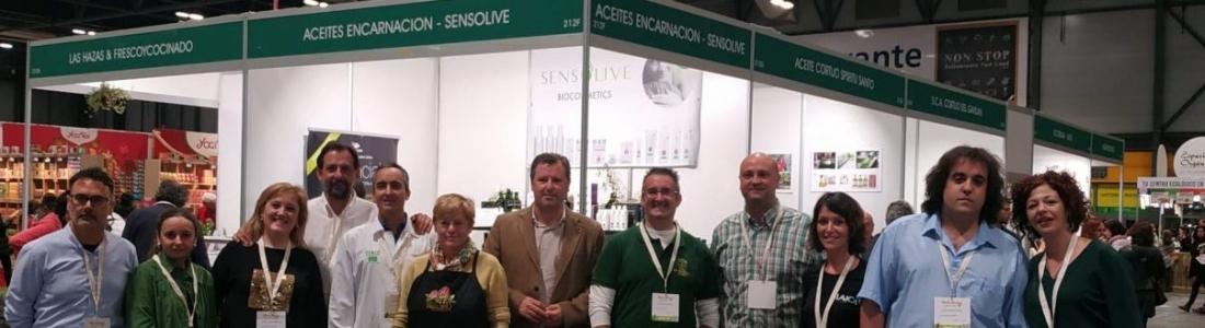 Una decena de empresas de productos ecológicos Degusta Jaén se promocionan en Biocultura