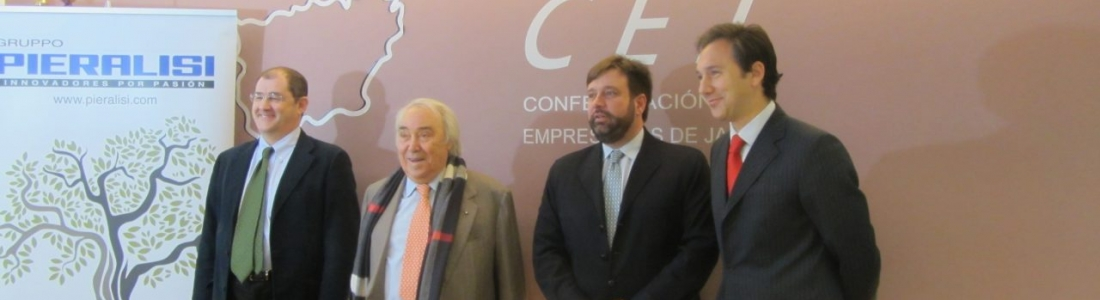 Gennaro Pieralisi destaca la «extraordinaria evolución» del sector oleícola en España y la mejora de la calidad del aceite en Jaén