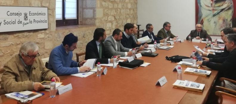 El CES celebra la primera reunión del Foro Técnico Empresarial de la Biomasa de la provincia de Jaén