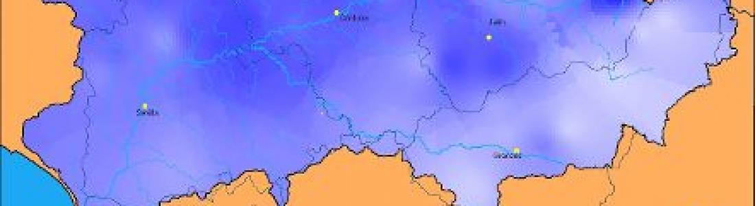 Las precipitaciones registradas en abril en la cuenca del Guadalquivir superan en un 73% la media histórica