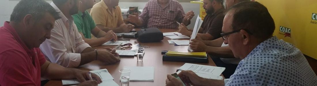 COAG-Andalucía muestra su preocupación por el estrés hídrico acumulado