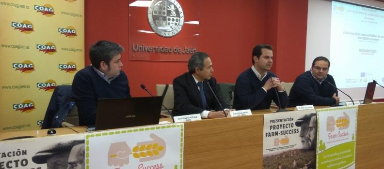 COAG-Jaén presenta los resultados del proyecto europeo de relevo generacional en el que lleva años trabajando