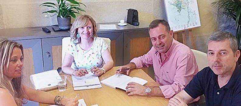 El Ayuntamiento abre vías de colaboración con el COI para potenciar la capitalidad de Jaén en materia de aceite de oliva