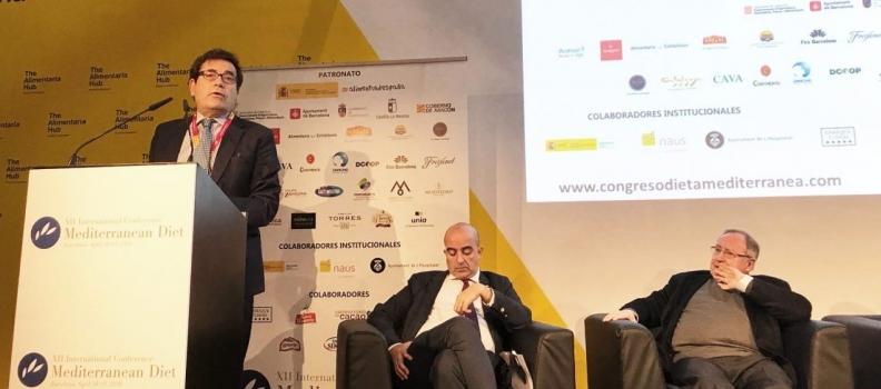 Cabanas reitera el apoyo de Agricultura a la dieta mediterránea