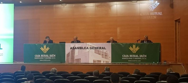 La Caja Rural de Jaén aprueba las cuentas anuales de 2019 en su asamblea general ordinaria