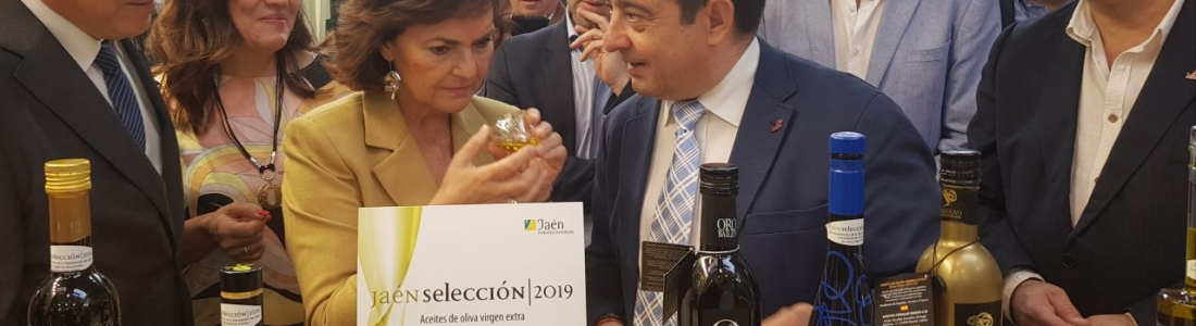 Carmen Calvo visita Expoliva 2019 en su última jornada