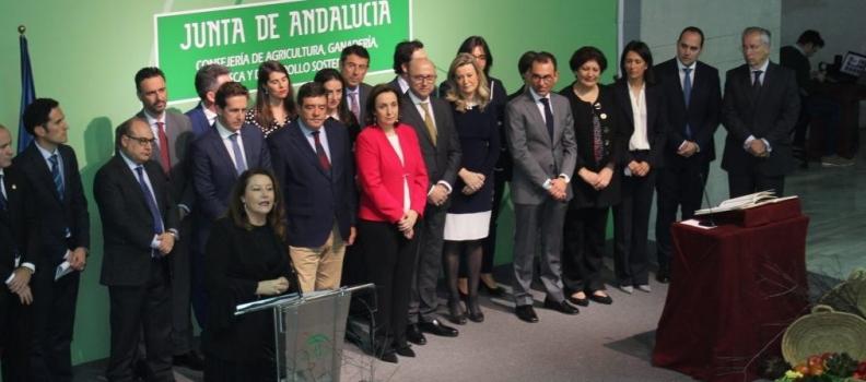 Carmen Crespo preside la toma de posesión de los altos cargos y delegados territoriales de la Consejería