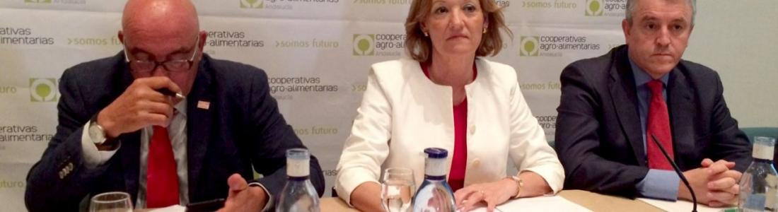 La consejera de Agricultura anuncia que la Junta hará un estudio sobre el impacto del Brexit