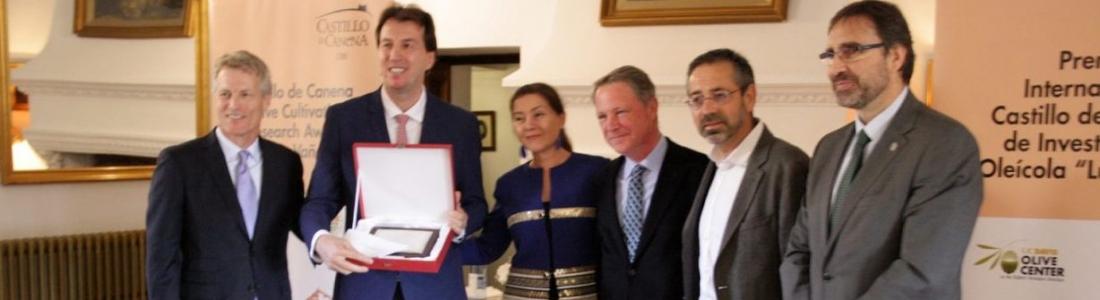 Entregado el IV Premio Internacional Castillo de Canena de Investigación Oleícola «Luis Vañó»