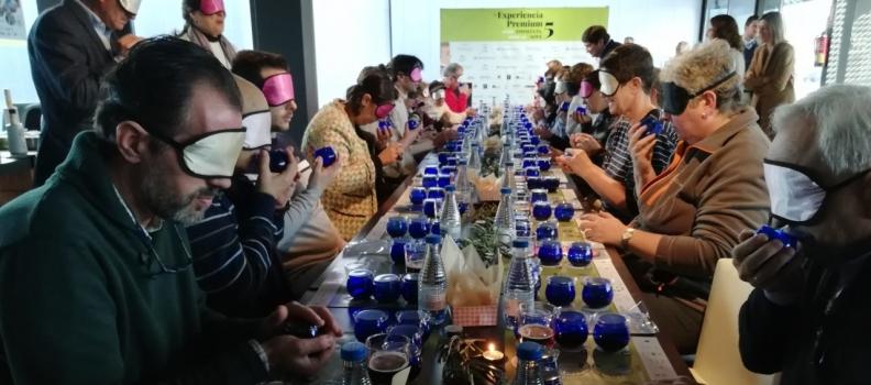 """Citoliva celebra la quinta edición de """"Experiencia premium"""" con una cata dirigida a personas con discapacidad visual"""