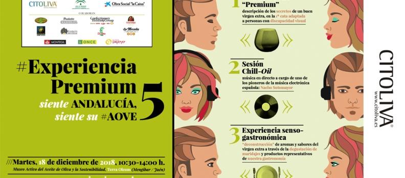 Citoliva organiza la primera cata de aceite de oliva para personas con discapacidad visual