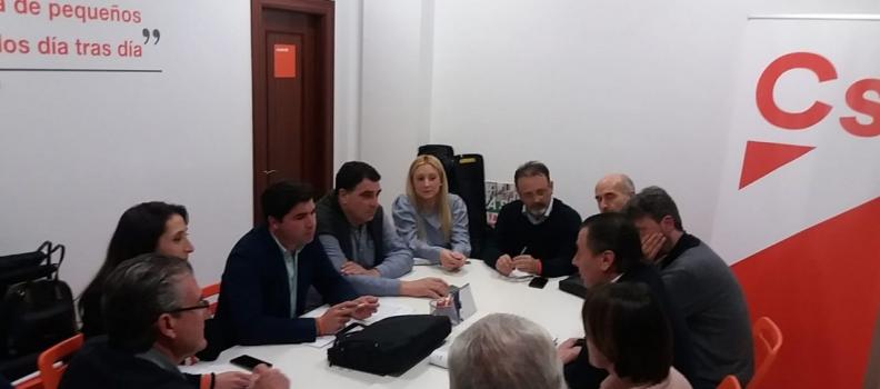 Ciudadanos constituye una mesa de regantes en Jaén para dar respuesta a las demandas del colectivo