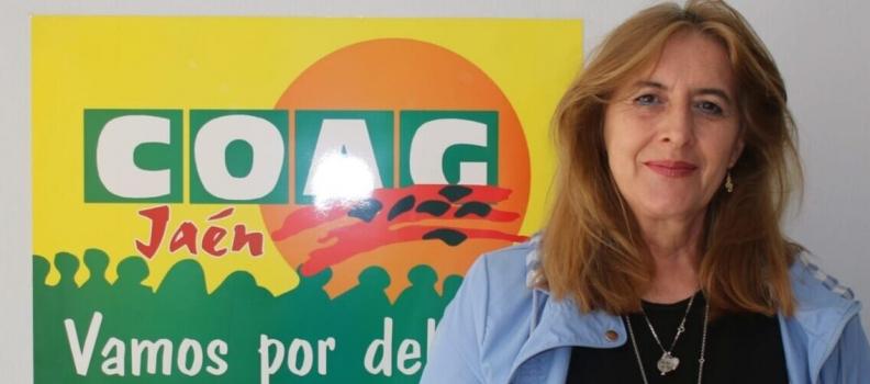 Fuensanta Arroyo preside la nueva asamblea de COAG en Villanueva del Arzobispo, que tiene como reto la defensa del olivar de montaña