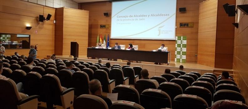 El Consejo de Alcaldes y Alcaldesas de Jaén aborda medidas ante el inicio de la campaña de la aceituna