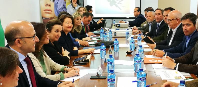 COAG-Andalucía valora el compromiso de la consejera ante reivindicaciones históricas del sector oleícola