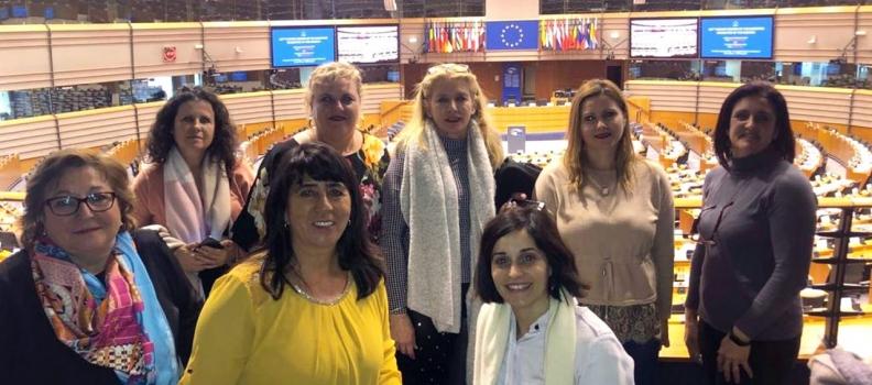 Cooperativistas andaluzas debaten sobre las problemáticas del sector agrario y del éxodo rural en el Parlamento Europeo