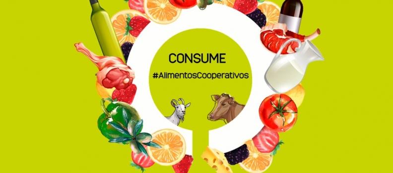 Cooperativas Agro-alimentarias de Andalucía reactiva la campaña 'CONSUME #AlimentosCooperativos' en Navidad