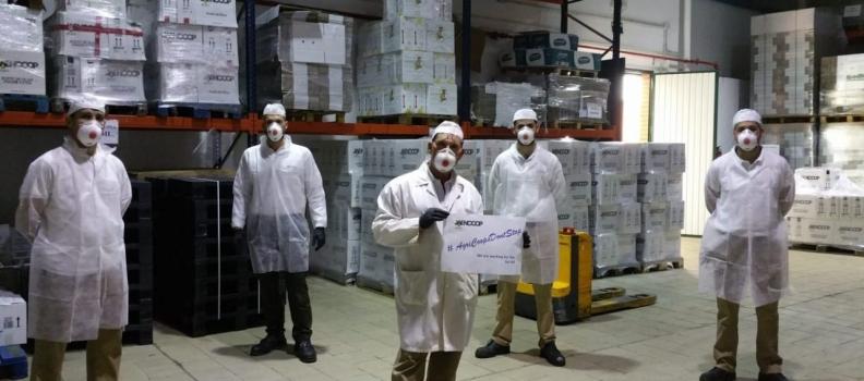 Cooperativas Agro-alimentarias de Jaén pone en valor la solidaridad y el trabajo de sus empresas en estos momentos difíciles