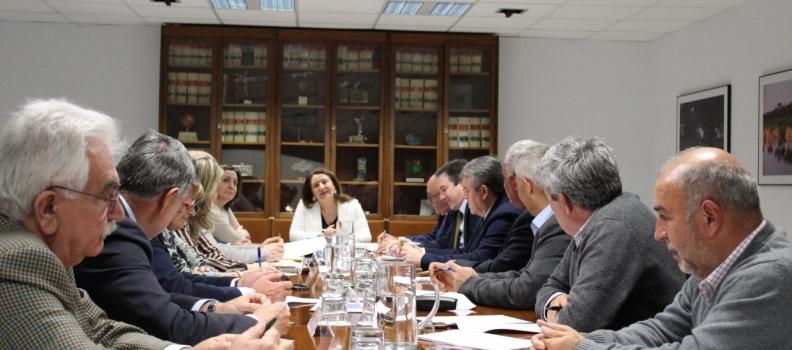 Cooperativas Agro-alimentarias traslada a  Agricultura sus propuestas para la mejora de la competitividad agraria y agroindustrial de Andalucía