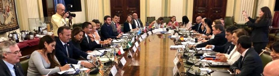 """Crespo reclama un frente común para evitar que los productos agrarios sean """"rehenes"""" de una guerra comercial internacional"""