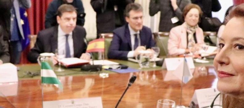 Carmen Crespo pide al Ministerio incentivos fiscales para dar respuesta a las demandas de agricultores y ganaderos
