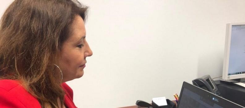 La consejera de Agricultura pide a los eurodiputados andaluces ir de la mano para buscar alianzas por una PAC justa y sin recortes