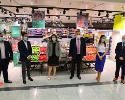 Crespo anima a consumir productos andaluces para agradecer al sector de la alimentación su esfuerzo durante la crisis del Covid
