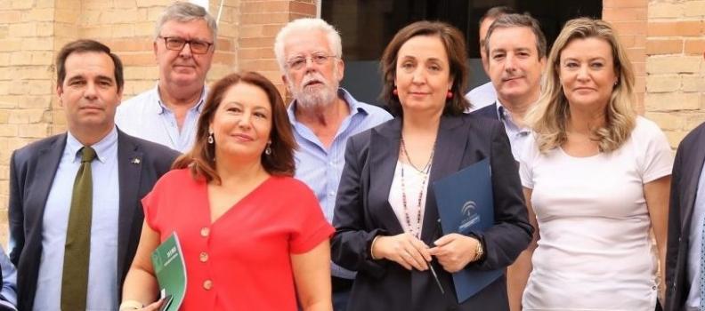 Crespo llama a defender la sostenibilidad del sector agrario andaluz ante los ataques en Europa de lobbies interesados