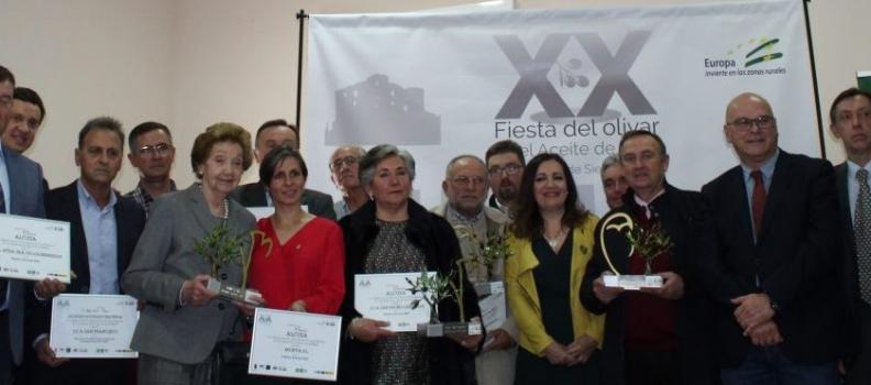La DO Sierra Mágina entrega sus premios en Huelma en la XX Fiesta del Olivar y del Aceite de Oliva Virgen Extra