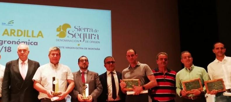 La DO Sierra de Segura entrega sus Premios Ardilla a la calidad de los mejores aceites