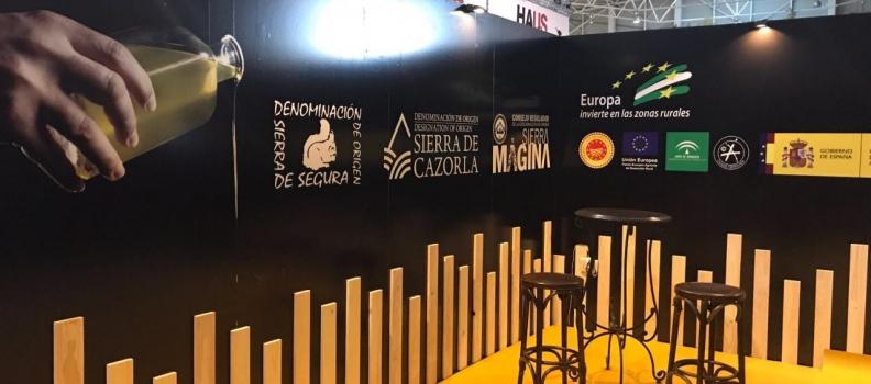 Las tres DOP de Jaén mostrarán en un estand en Expoliva el carácter diferenciador de la calidad y del origen