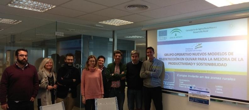 Comienzan los trabajos de un grupo operativo autonómico para la optimización de la productividad y sostenibilidad del olivar