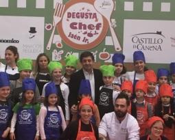 Escolares de 5º Primaria del colegio Pedro Poveda de Jaén ganan el Concurso de Cocina Degusta Jaén en Primaria