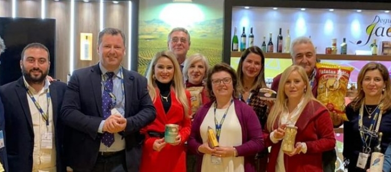 Un grupo de empresarios de Degusta Jaén visita Madrid Fusión