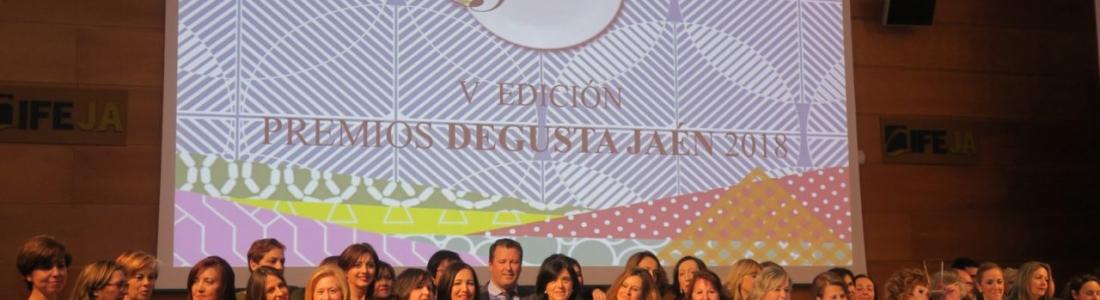 La  Diputación distingue a empresas destacadas del sector agroalimentario en sus V Premios Degusta Jaén